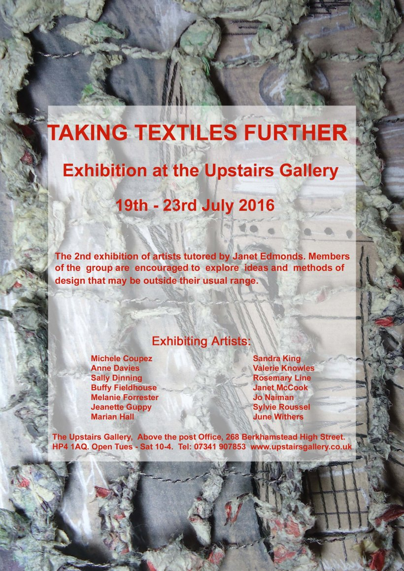 Taking Textiles Further UG Flyer  v 1 copy